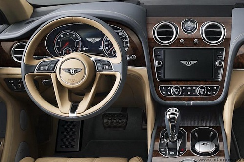 SUV Bentley Bentayga 2016